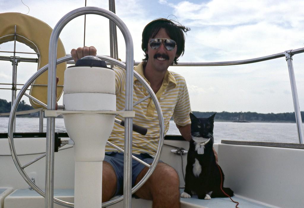 Boat cat series #11 by sailingmusic