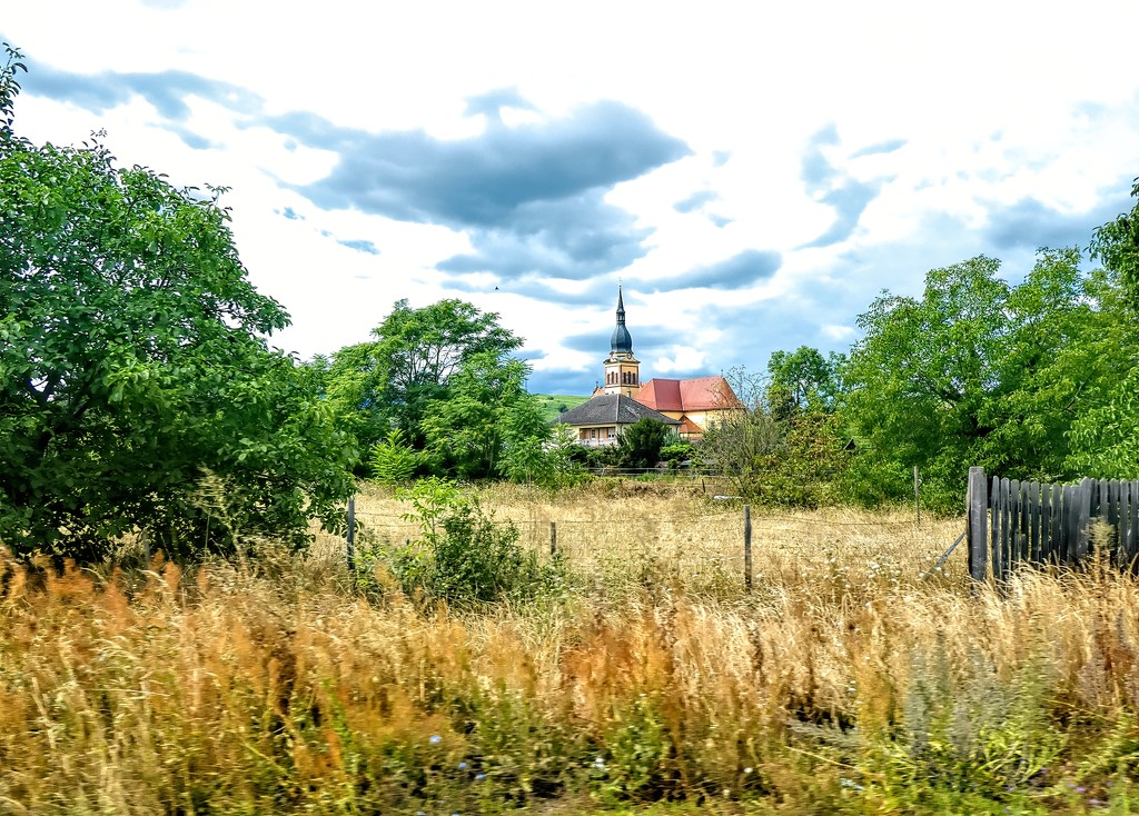A drive by shot in Alsace, France by ludwigsdiana