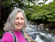 17th Jun 2019 - 17th June  Aberglaslyn selfie