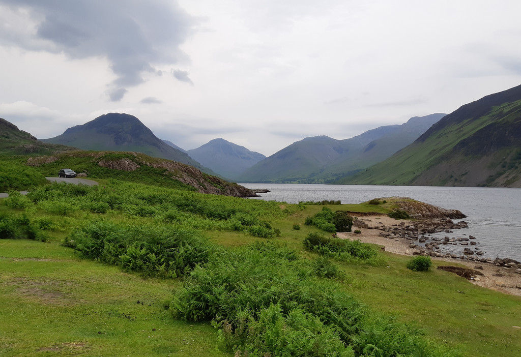 20th June wastwater and Gable by valpetersen