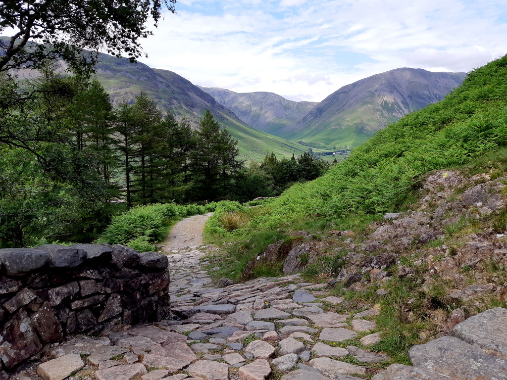 25th June corpse road Wasdale by valpetersen