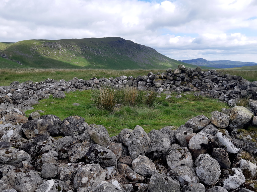 26th June Maidencastle Cairn by valpetersen