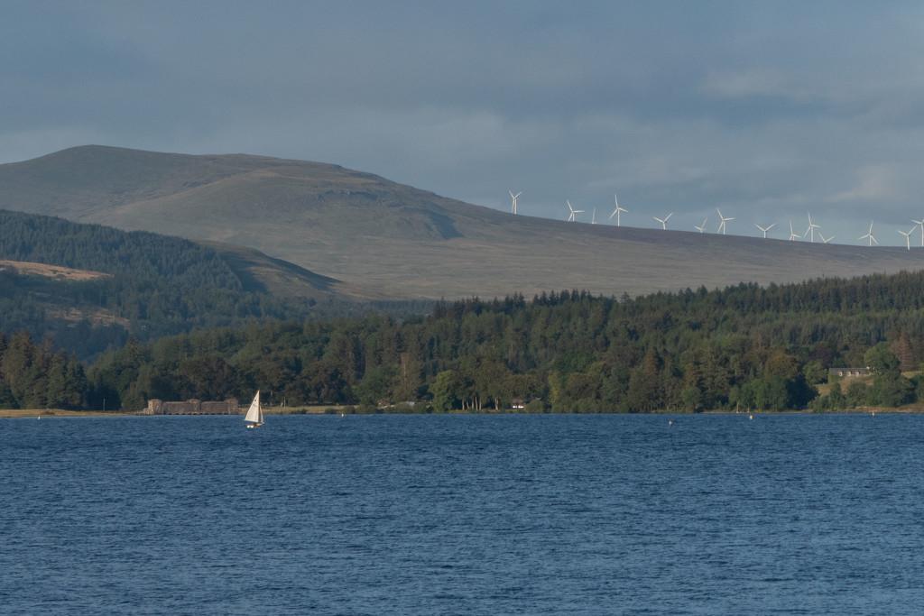 Sailing on Loch Venachar  by sheilaw
