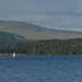 Sailing on Loch Venachar