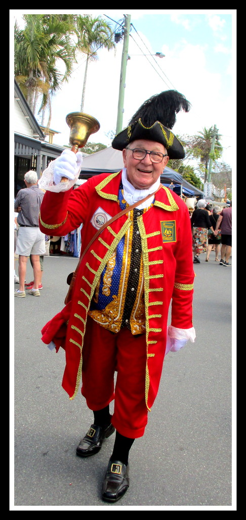 Town Cryer at the Yandina Fair this morning by 777margo