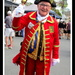 Town Cryer at the Yandina Fair this morning