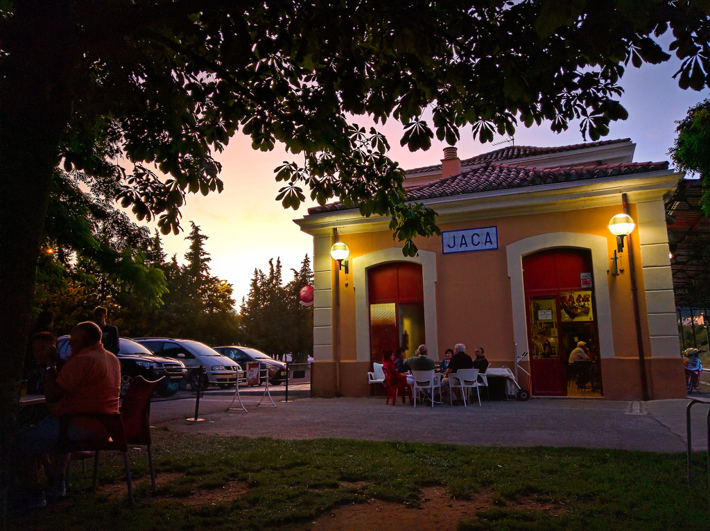 Train Station and Chill Bar by petaqui