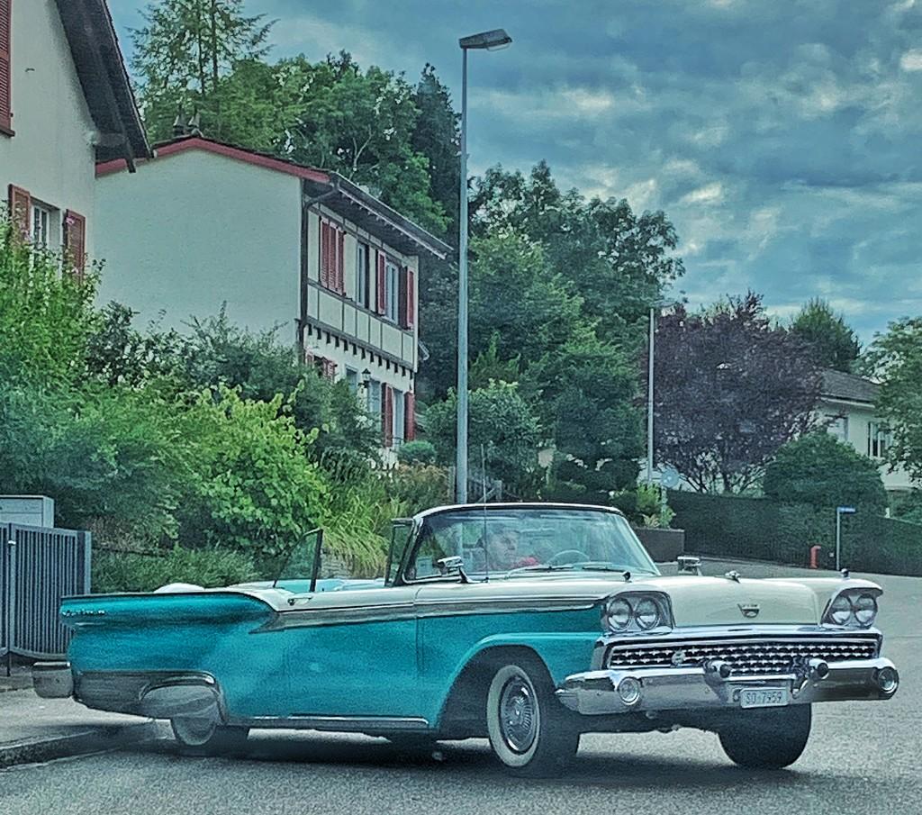 Blue car.  by cocobella