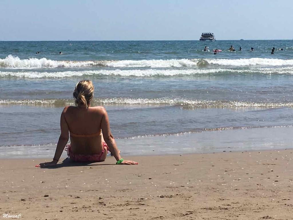 Enjoying the beach by monicac