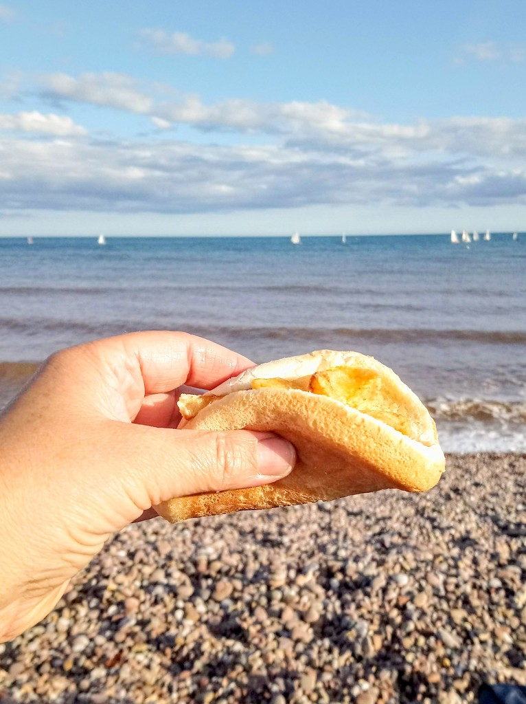 Sidmouth chip butty by boxplayer