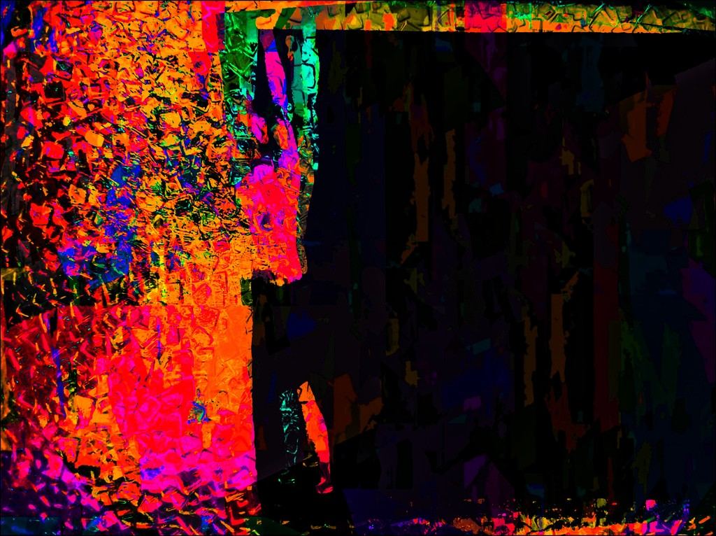 Abstracts in the Parking Lot 5 by olivetreeann