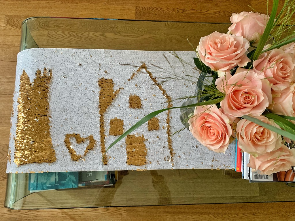 Heart and a house.  by cocobella