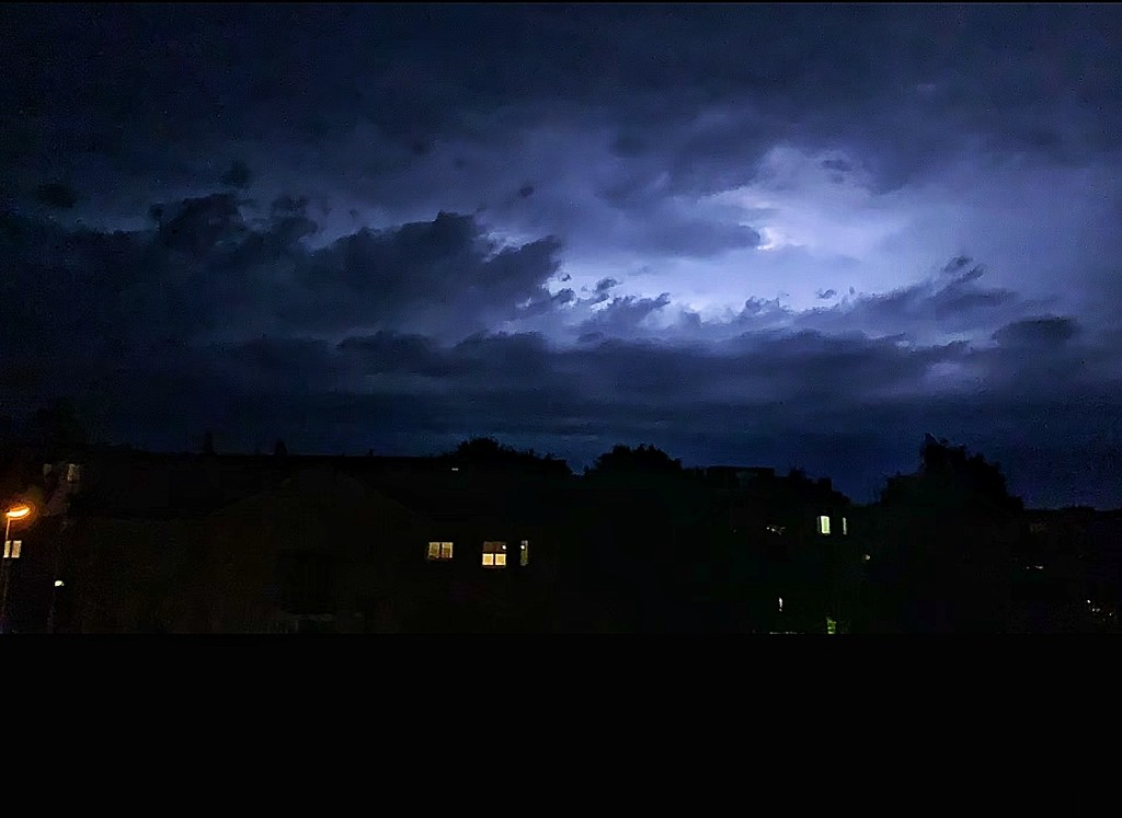 Storm in the night.  by cocobella