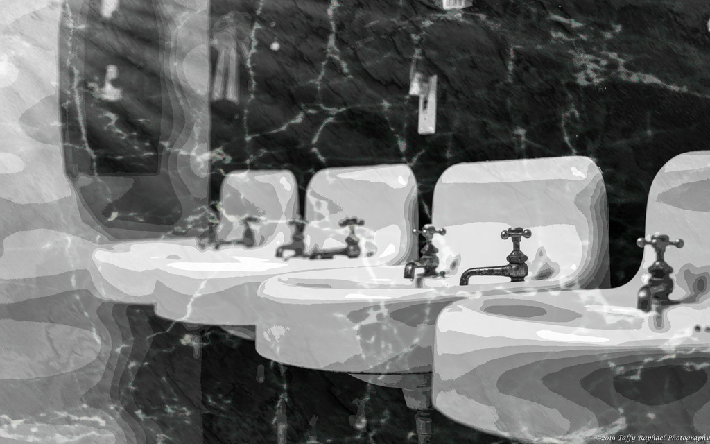 Sinks at the Brothers Place by taffy