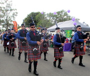 19th Aug 2019 - Local band marching through the Streets of Yandina to the opening of the Street Fair