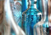 19th Aug 2019 - 2019-08-19 detail of a glass vase