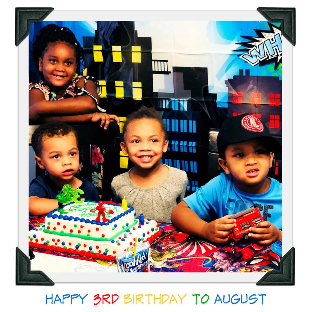 Happy Birthday To August by yogiw