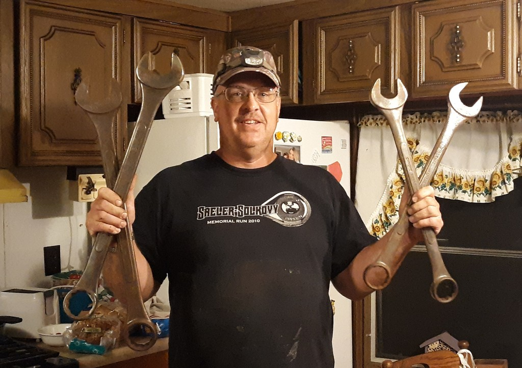 BIG wrenches by julie