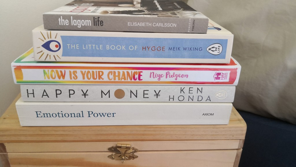 My reading stack.  by kgolab