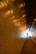 19th Aug 2019 - Reflection of lights on the tunnel wall
