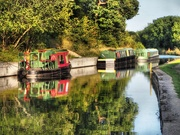 20th Aug 2019 - Golden hour at the canal