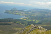 7th Jul 2019 - View of Brodick from Goat Fell