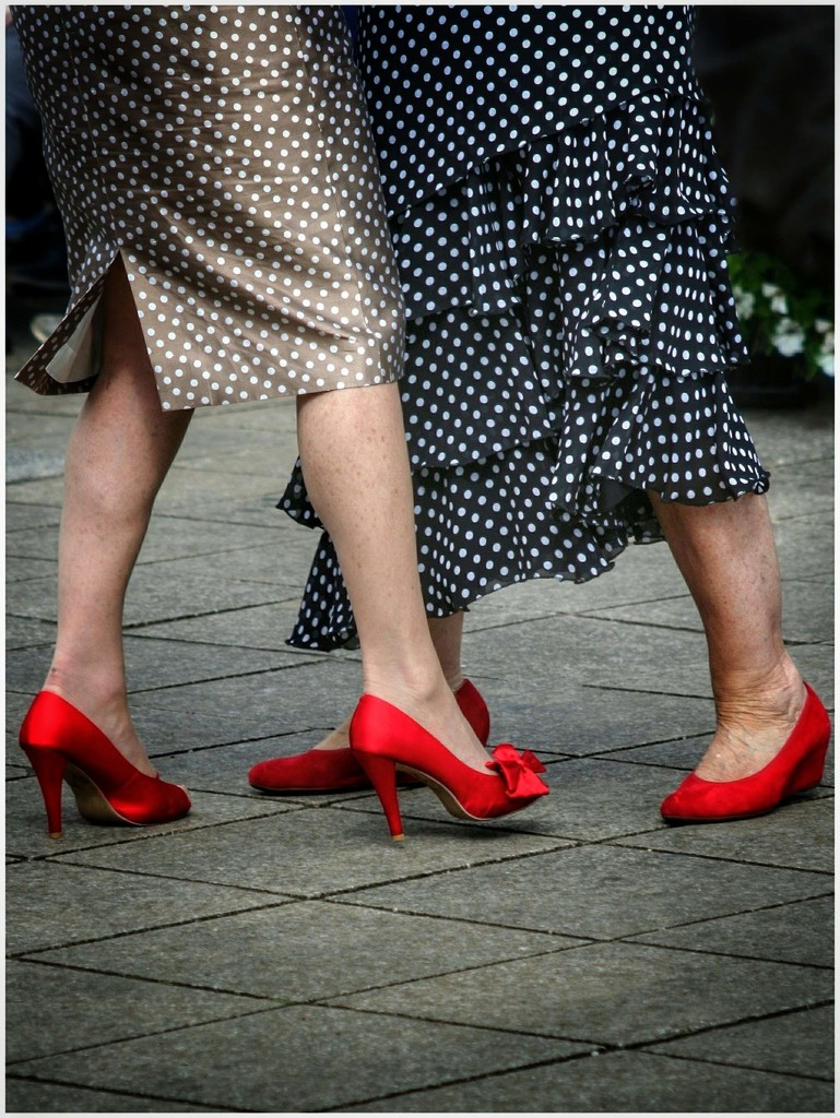 Put on those red dancing shoes! by lyndamcg