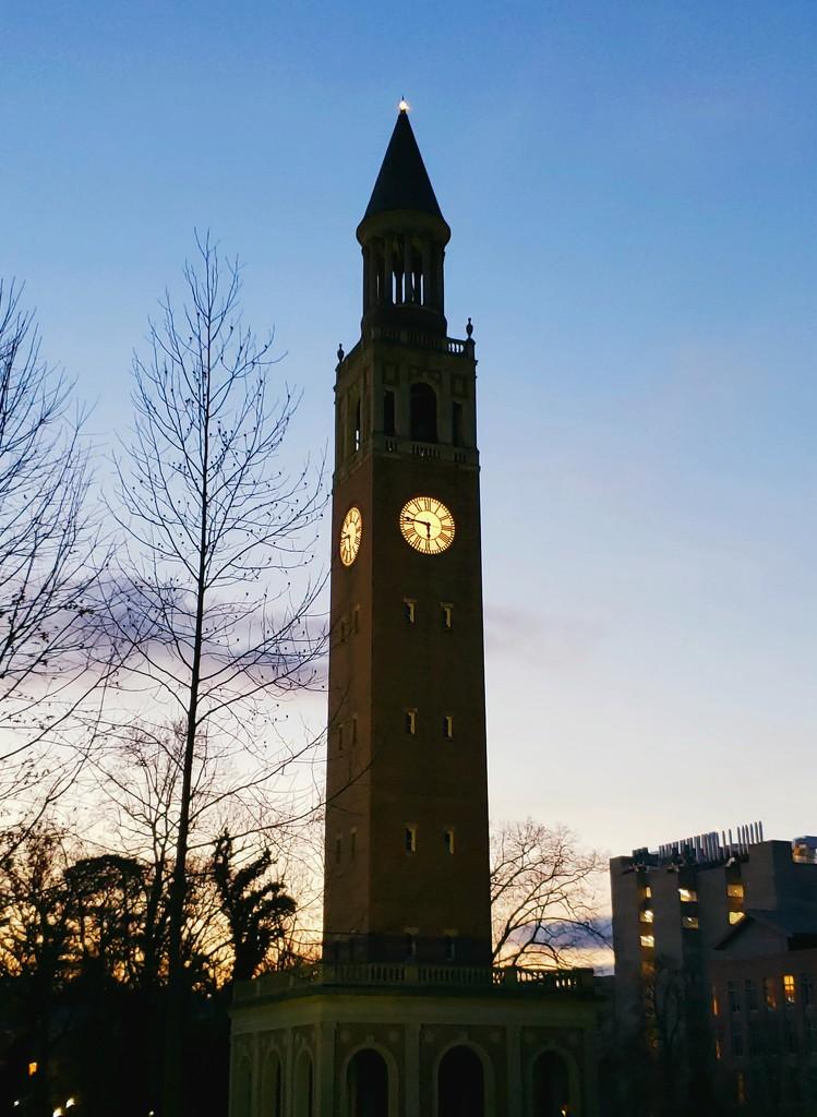 Chapel Hill Bell Tower by morrij10