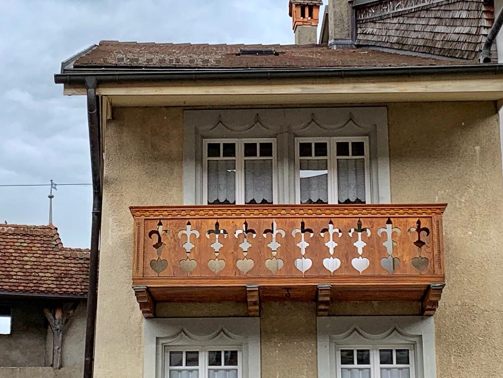 Hearts on the balcony.  by cocobella