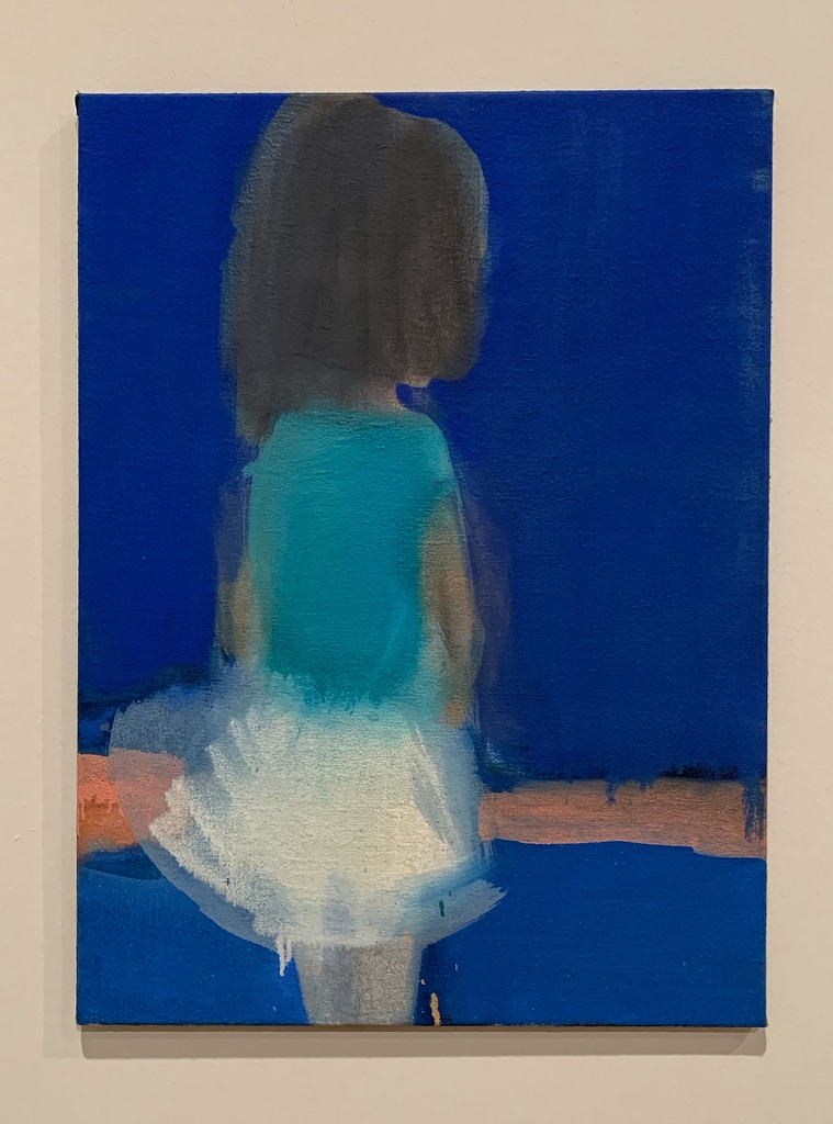 Girl in blue.  by cocobella