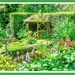 A Shady Corner,Coton Manor Gardens