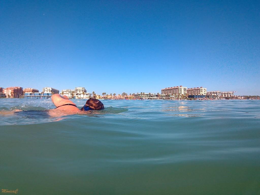 Swimming by monicac