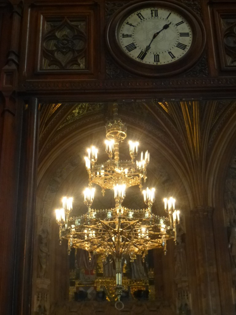 Chandelier in the Central Lobby  by 30pics4jackiesdiamond