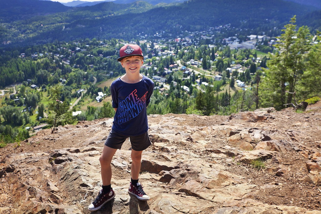 Hiking with my little one by kiwichick