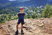 22nd Aug 2019 - Hiking with my little one