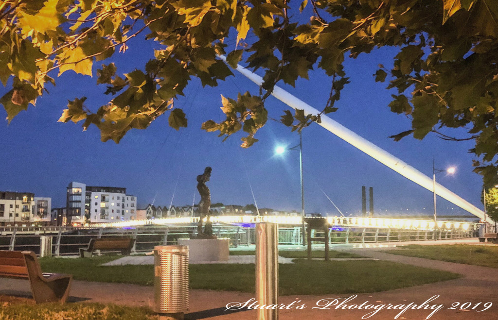 Early morning on the Riverfront  by stuart46