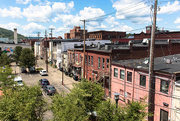 24th Aug 2019 - Back street in Corning, New York