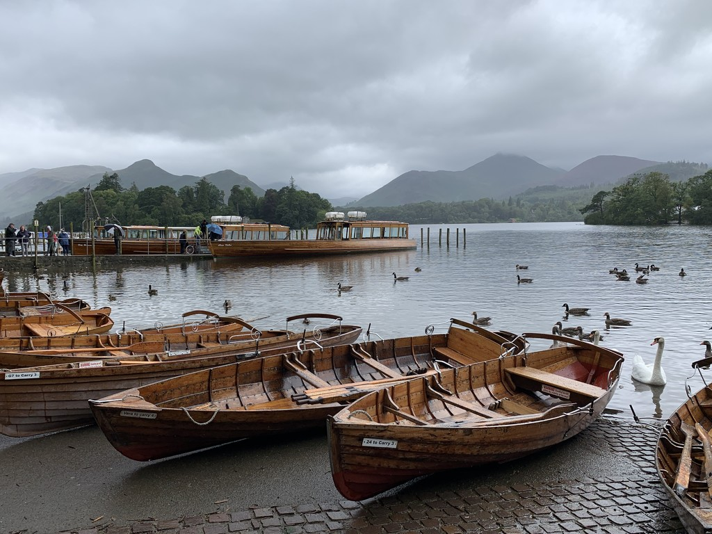 Keswick boat harbour by tinley23