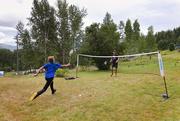 11th Aug 2019 - Backyard Badminton