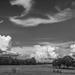 Cloudy sky...