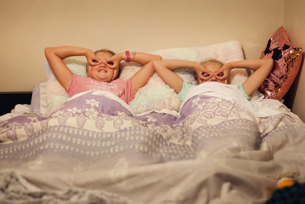 Sleepover Fun by kiwichick