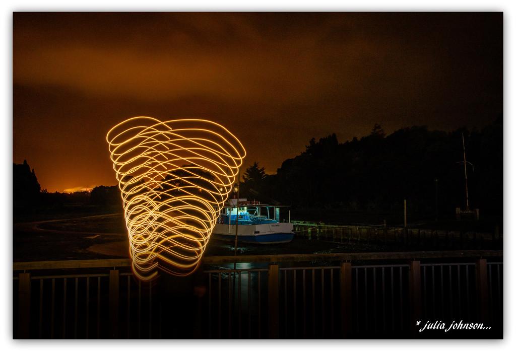 UFO on the Jetty ... by julzmaioro