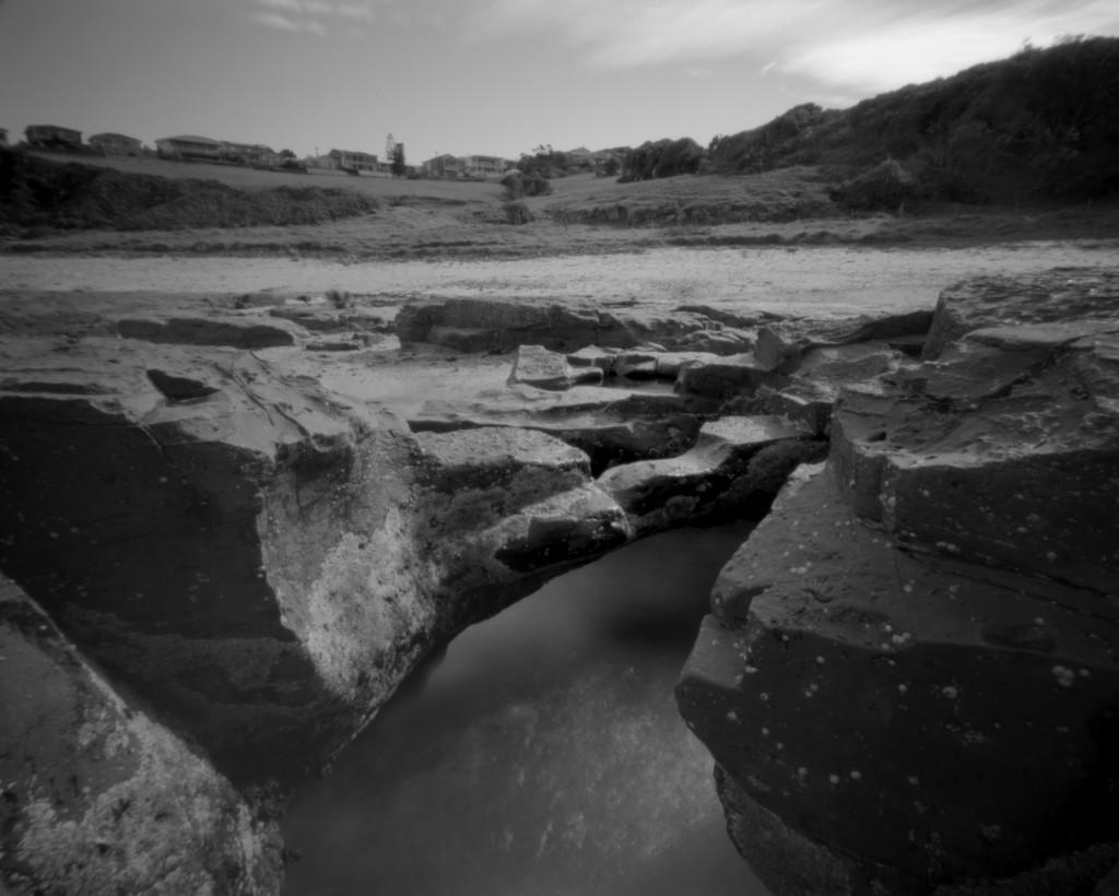 Rock bridge by peterdegraaff