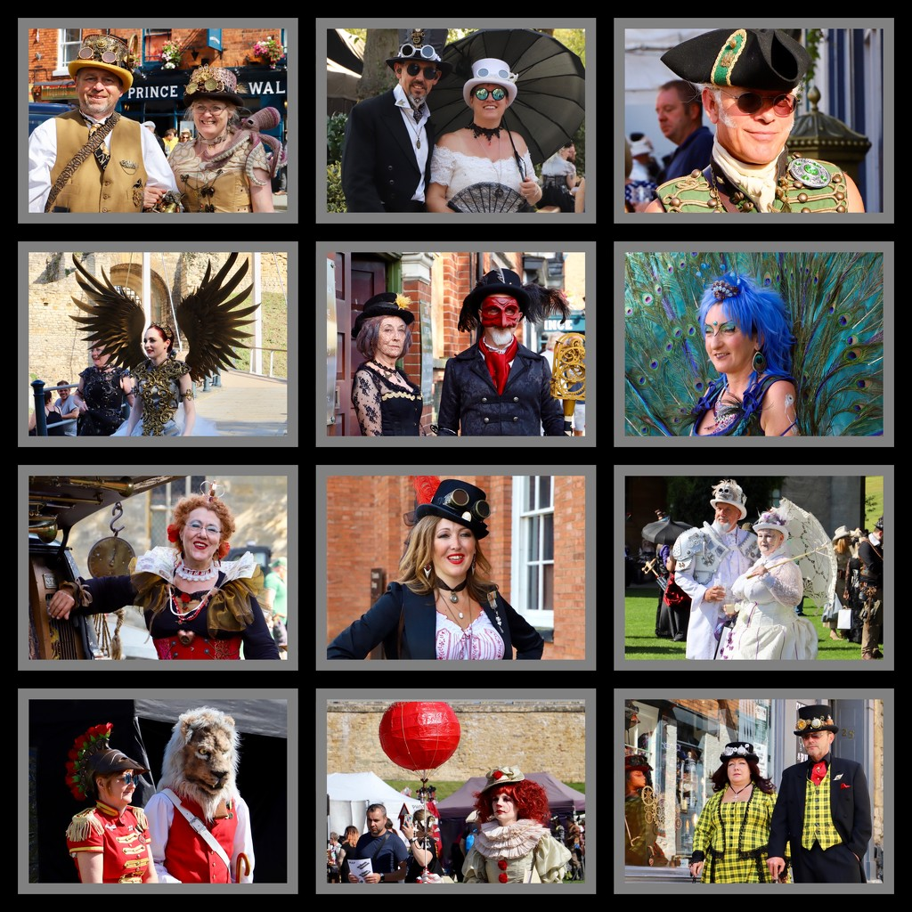 Steam Punks Collage by carole_sandford