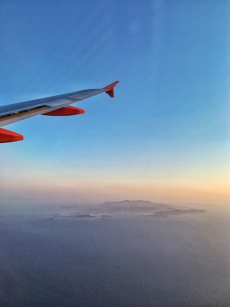 Above the Cyclades.  by cocobella