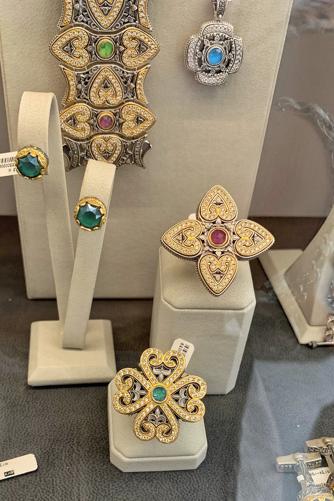 Jewels with hearts.  by cocobella