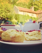 26th Aug 2019 - Afternoon tea at Iford Manor