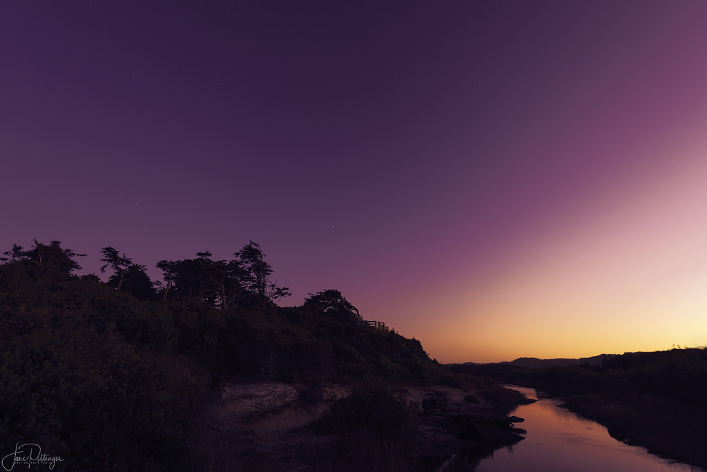 Sunset At Holman Overlook by jgpittenger