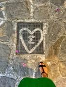28th Aug 2019 - Heart in Mykonos city.