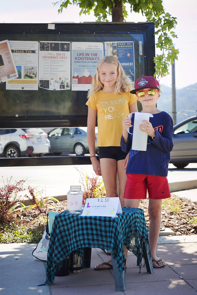 Lemonade Stand by kiwichick